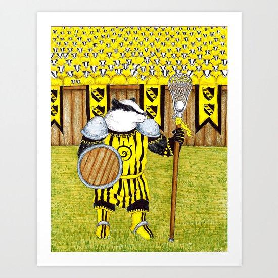 Knockalod Eulalia, Champion of Bazzlenoor Art Print