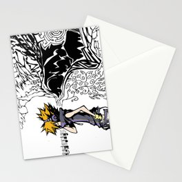 Noise Filter Stationery Cards
