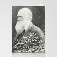darwin Stationery Cards featuring Darwin by Warsheh