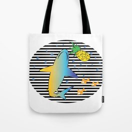 Pineapple Shark 1 Tote Bag