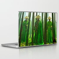 china Laptop & iPad Skins featuring China  by Saundra Myles