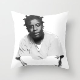 Crazy Eyes (Blurred) Throw Pillow