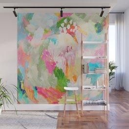 fantasia: abstract painting Wall Mural