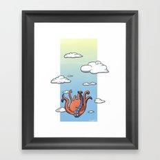 Freefall Framed Art Print