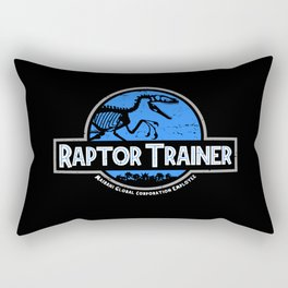 Raptor Trainer Rectangular Pillow