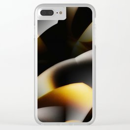 Abstract ambivalence Clear iPhone Case