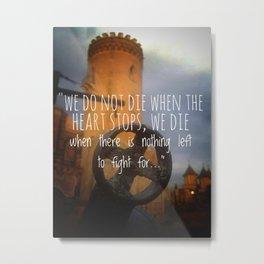 Tower of faith Metal Print