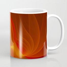 Much Warmth, Abstract Fractal Art Coffee Mug
