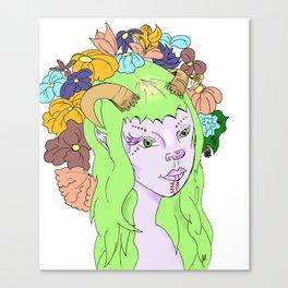 Faun Canvas Print