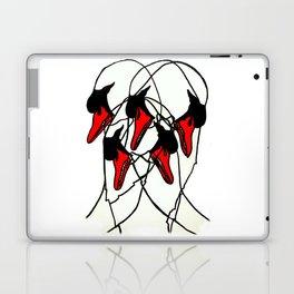 Moving Swan Laptop & iPad Skin