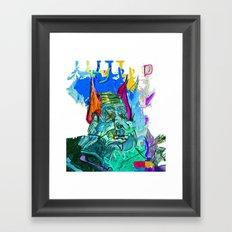 Demoted Framed Art Print