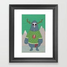 King of Weird Framed Art Print