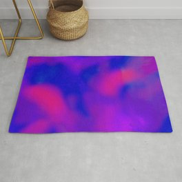 pink red and blue Rug