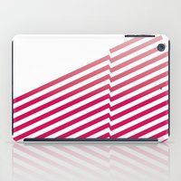 bands iPad Cases featuring Red Bands by blacknote