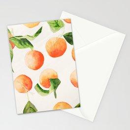 Satsumas Watercolor Painting Stationery Cards
