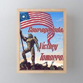 Fallout ADS Poster Framed Mini Art Print