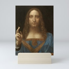 Price Slashed on 450M Leonardo da Vinci Salvator Mundi Mini Art Print