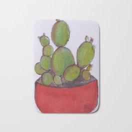 Love my cactus Bath Mat