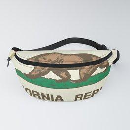 California Republic Flag Fanny Pack