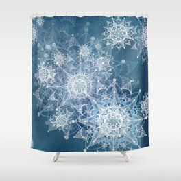 Catch on My Tongue, But since I was Driving, Just Hypnotized Instead Shower Curtain