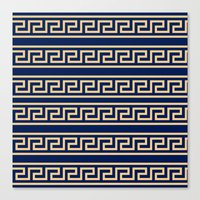 greek Canvas Prints featuring Greek by Mr and Mrs Quirynen
