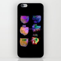 neon iPhone & iPod Skins featuring neon by clemm