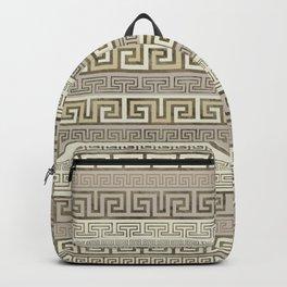 Greek Meander Pattern - Greek Key Ornament Backpack