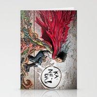 akira Stationery Cards featuring Akira Tetsuo  by Joe Badon