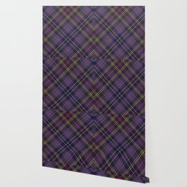 Purple Tartan Wallpaper