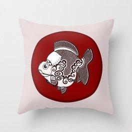 Goldfish Irene Adler Throw Pillow
