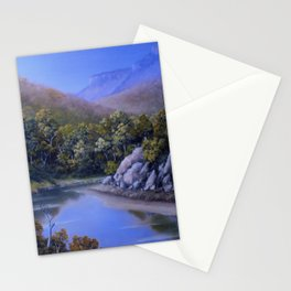 RIVER LOW TIDE Stationery Cards