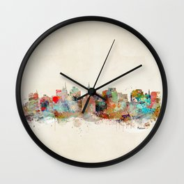 Madison Wisconsin  Wall Clock