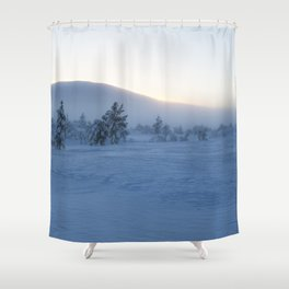 Lapland winter Shower Curtain