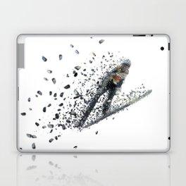 Ski jumper in mid air Laptop & iPad Skin
