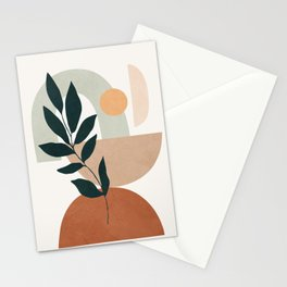 Soft Shapes IV Stationery Cards