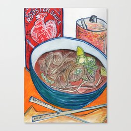 Ode To Pho Canvas Print