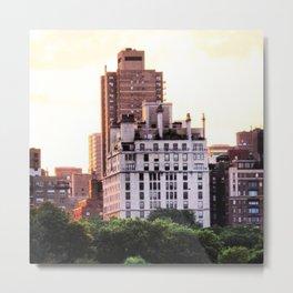 CITY VIEW NYC Metal Print