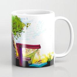 Gypsy River Architectural Illustration 89 Coffee Mug