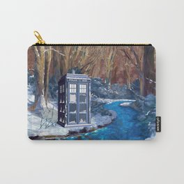 Frozen Tardis Doctor who iPhone 4 5 6 7 8, pillow case, mugs and tshirt Carry-All Pouch