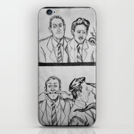 HPL and Frank iPhone Skin