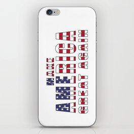 Make America Great Again iPhone Skin
