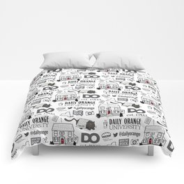 Daily Orange Pattern Comforters