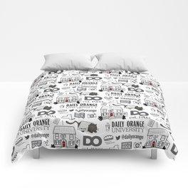 Daily Orange Pattern Comforters