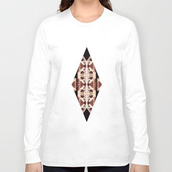 Blank chairs under the doorknobs No5  Digital Art Long Sleeve T-shirt
