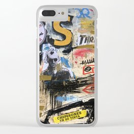Chipirones En Su Tinta Clear iPhone Case