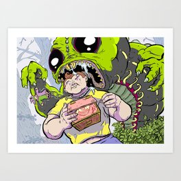 Arthur: The World's Strongest Boy Art Print