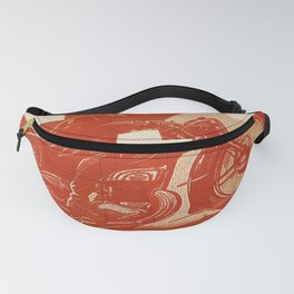 Motorcycle Race II Fanny Pack