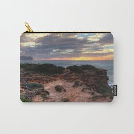 Wild coast sunset. Carry-All Pouch