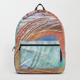 Pastel Boho Peacock Backpack