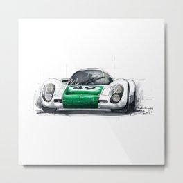 Porsche 907K  Metal Print